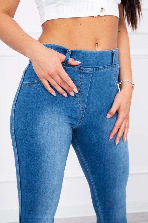 Jeans Cu Fundita La Glezna