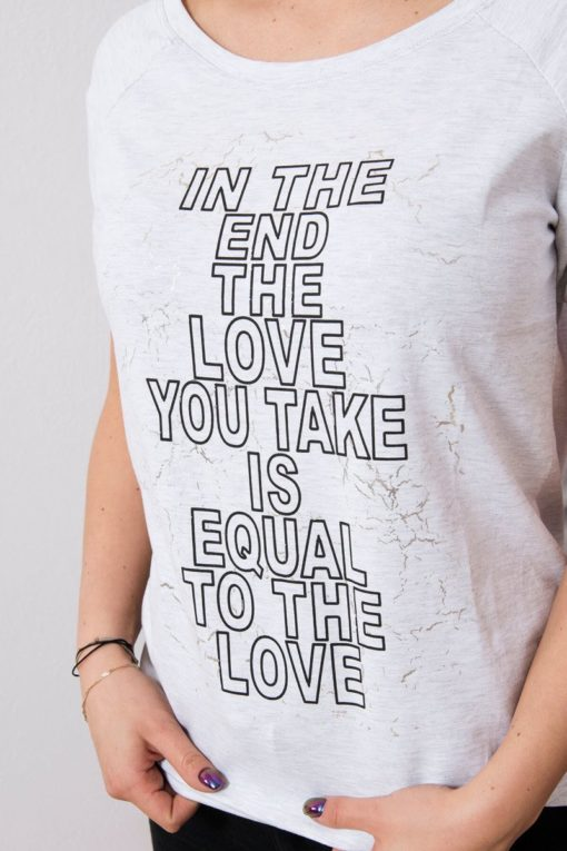 Tricou In The End