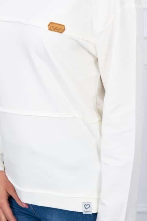 Bluză Cu Dungi Aplicate