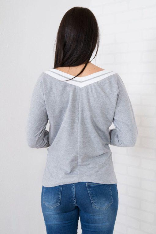 Bluză Cu Simplă în V
