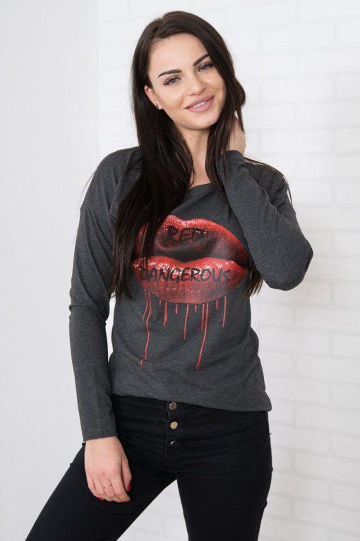 Bluză Red Lips