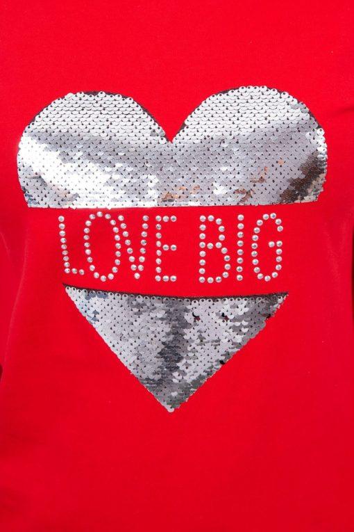 Bluză Love Big
