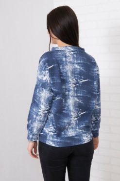 Hanorac Jeans Cu şnur
