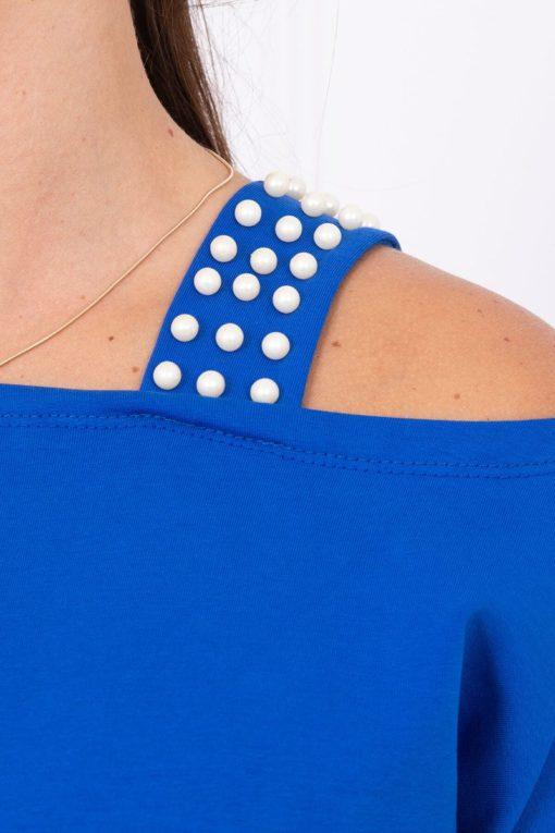 Hanorac Tip Bluză Cu Perle