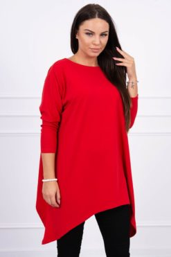Eng Pl Blouse Oversize Red