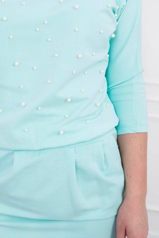 Rochie Scurtă Cu Perle