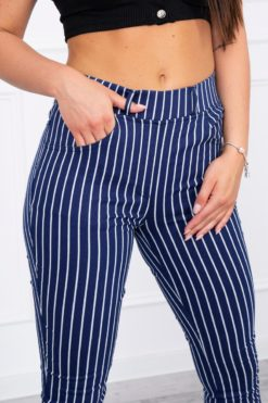 Pantaloni Cu Dungi Verticale