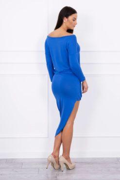 Rochie Elegantă Cu Lungime Asimetrică
