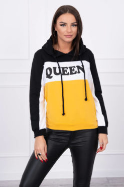 Bluza Queen Black Mustard