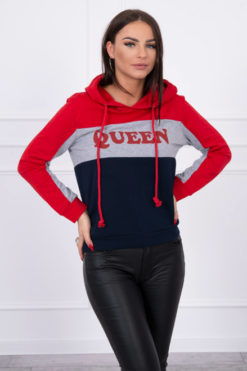 Bluza Queen Red Navy Blue