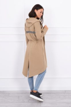 Eng Pl Coatee With Longer Back Camel