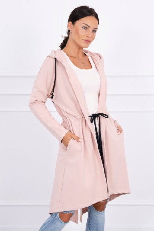 Eng Pl Coatee With Longer Back Dark Powdered Pink