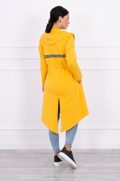 Eng Pl Coatee With Longer Back Mustard