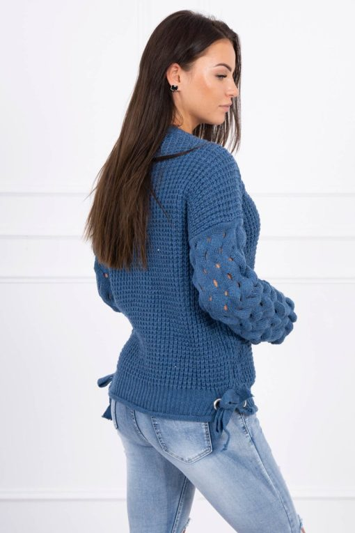 Eng Pl Sweater Tied At The Bottom Jeans