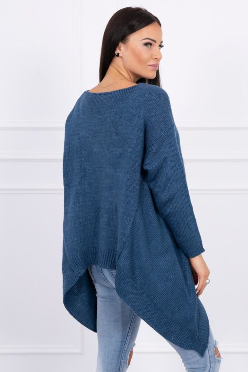 Eng Pl Sweater With Longer Sides Jeans