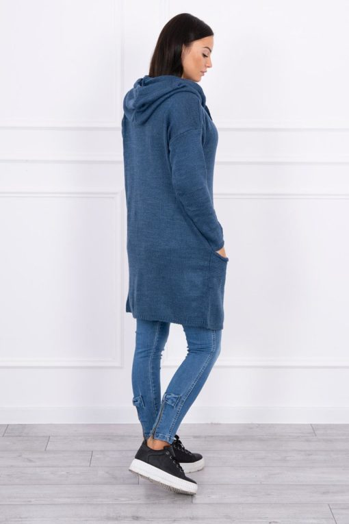 Eng Pl Sweater With Envelope Bottom Jeans