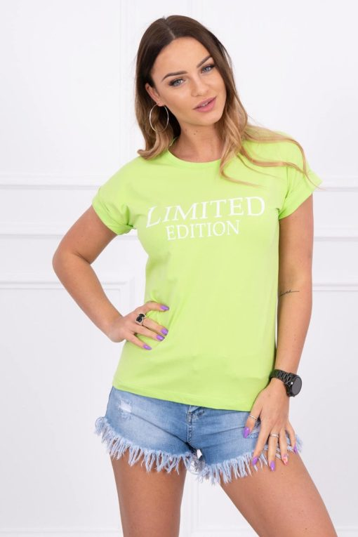 Eng Pl Blouse Limited Edition Light Green