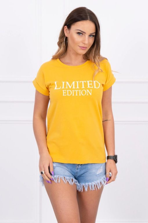 Eng Pl Blouse Limited Edition Mustard