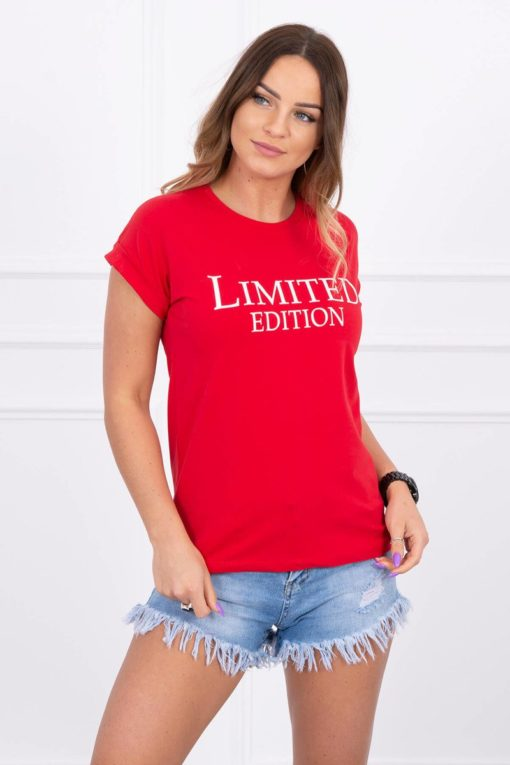 Eng Pl Blouse Limited Edition Red