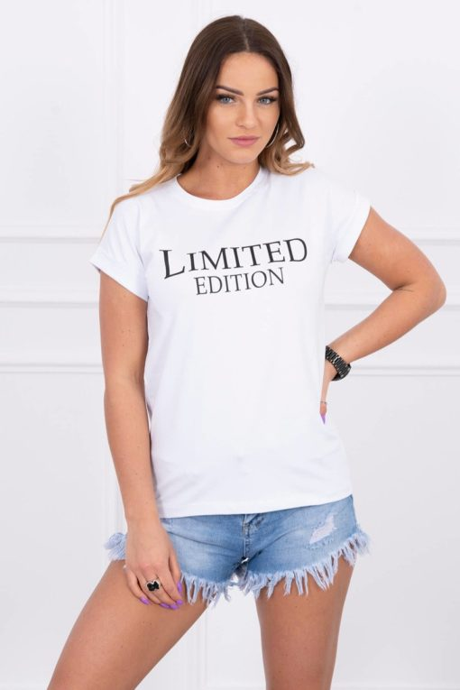 Eng Pl Blouse Limited Edition White